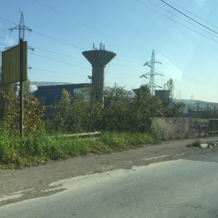 (Nearly) abandoned steelworks
