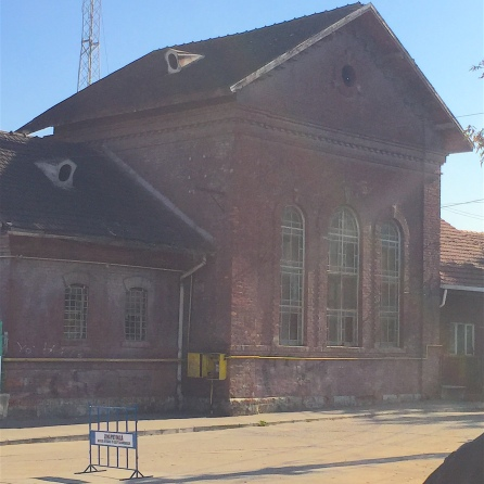 Abandoned municipal building